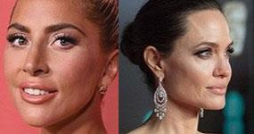 Lady Gaga y Angelina Jolie en Guerra por Cleopatra?