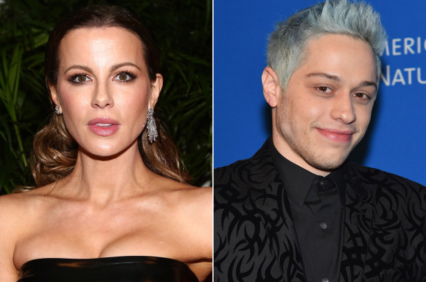 Kate Beckinsale y Pete Davidson salen juntos de fiesta Golden Globes