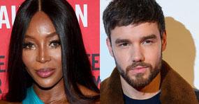 Naomi Campbell y Liam Payne coqueteando en Instagram