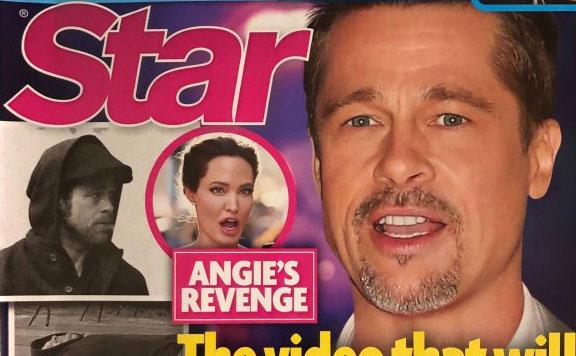 Angelina filtra vídeo de Brad ebrio para ganar la custodia (Star)