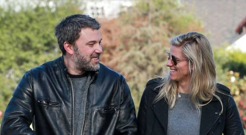 Ben Affleck y Lindsay Shookus se hablan de nuevo