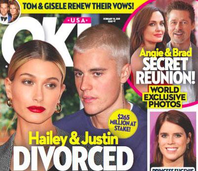 Justin Bieber y Hailey Baldwin divorciados tras 139 días! (OK!)