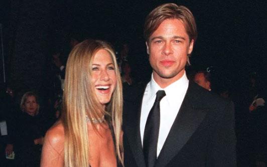 Brad Pitt fue al cumpleaños 50 de Jennifer Aniston! OMG! OMG!