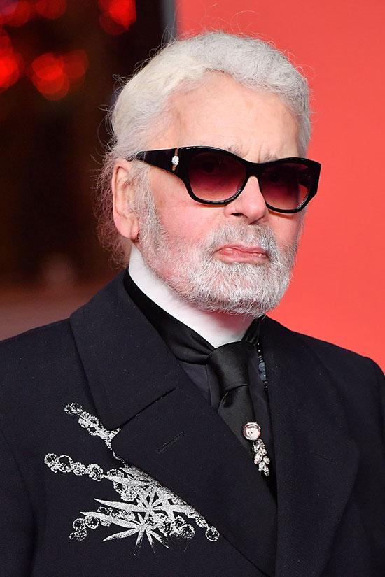 Murió Karl Lagerfeld