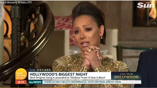 Mel B critica a Gaga por presentación con Bradley Cooper en los Oscars