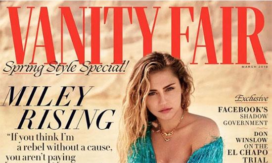 Miley Cyrus en Vanity Fair – Perder su casa, casarse y ser Queer