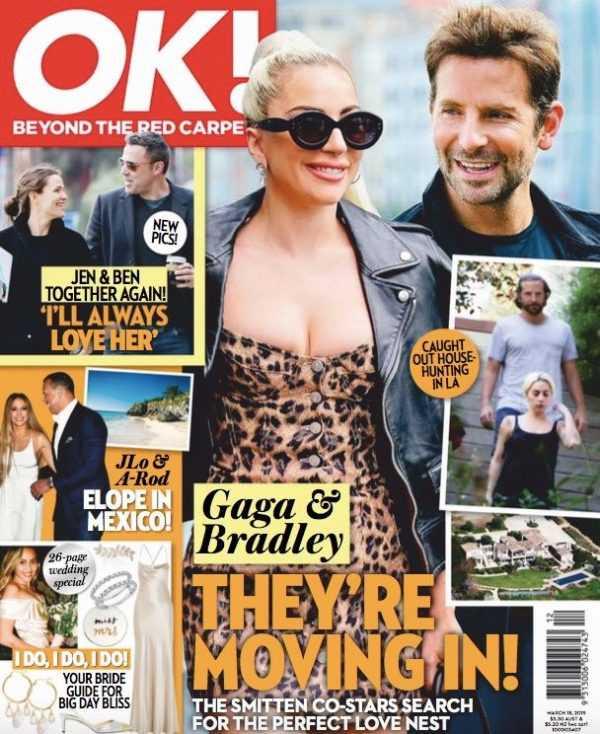 Lady Gaga Embarazada! De Bradley o Christian? LOL! (Star)