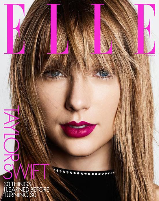 Taylor Swift habla de su pelea con Kim Kardashian (Elle)