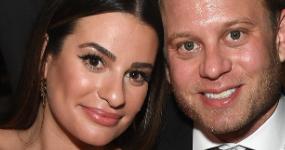 Lea Michele se casó con Zandy Reich en Napa