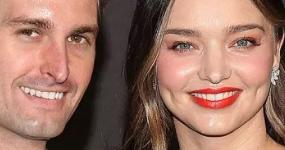 Miranda Kerr espera su segundo baby con Evan Spiegel