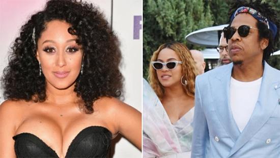 Tamera Mowry cuenta como conoció a Jay-Z y el Beyhive la ataca!