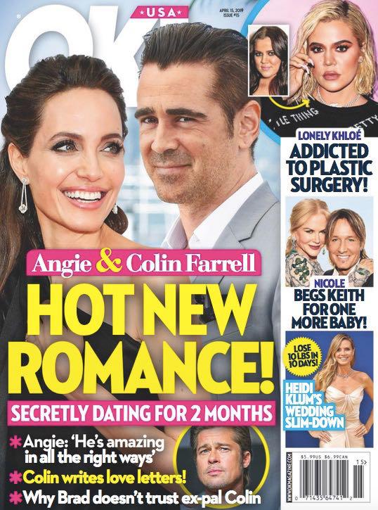 Angelina Jolie y Colin Farrell Romance HOT! (OK!)