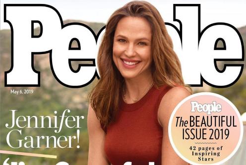 Jennifer Garner es la Mujer Más Hermosa 2019 – People