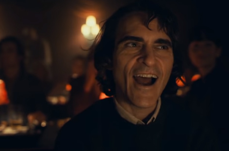 Joaquin Phoenix en el trailer de Joker