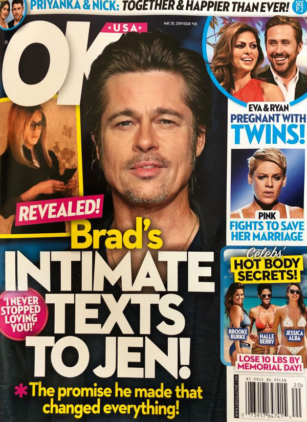 Los mensajes que Brad Pitt envió a Jen Aniston! Revelados!