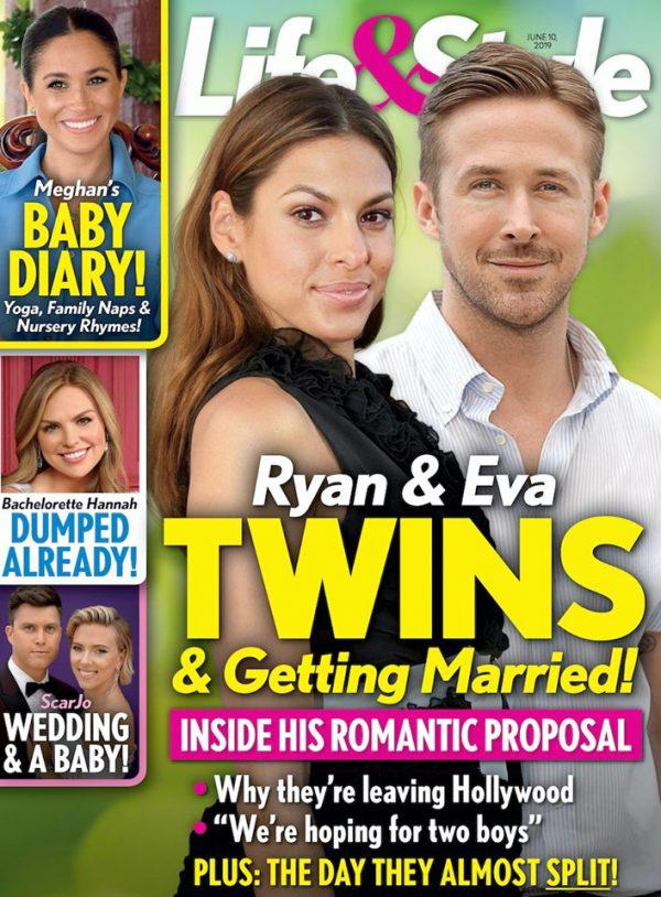 Ryan Gosling and Eva Mendes expecting twins + wedding!
