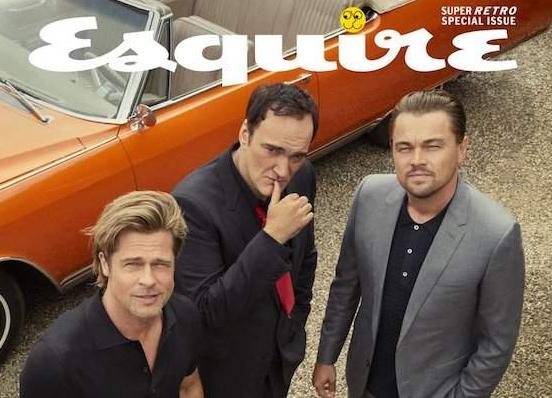 Brad Pitt y Leonardo DiCaprio hablan de Luke Perry