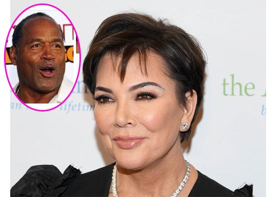 OJ Simpson revealed affair with Kris Jenner. HA!