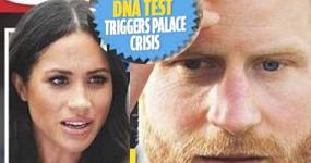 El Príncipe Harry no es el padre del baby de Meghan? WTF? LOL!