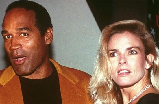 OJ Simpson y Nicole Brown