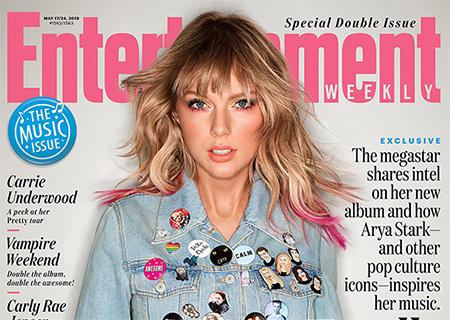 Taylor Swift da pistas sobre su nuevo disco, Entertainment Weekly
