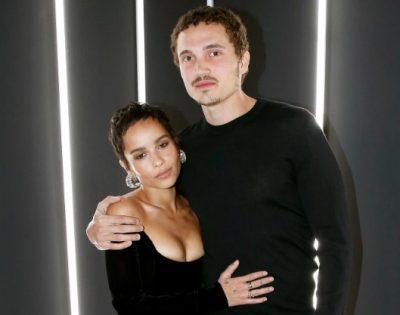 Zoe Kravitz se casó en secreto con Karl Glusman