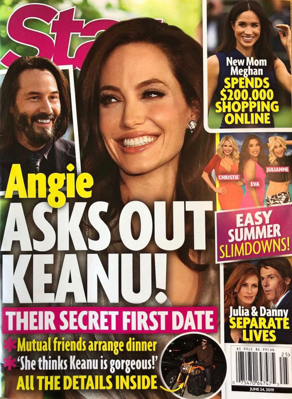 Angelina Jolie invites Go out to Keanu Reeves! He loves it! OMG! LOL!