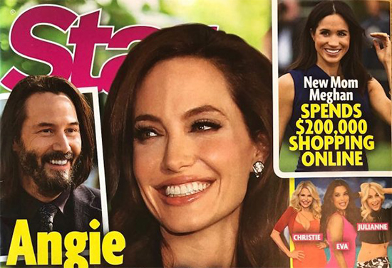 Angelina Jolie invites Keanu Reeves out! He loves it! OMG! LOL!