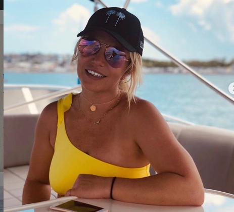 Britney Spears de vacaciones con su madre Lynne