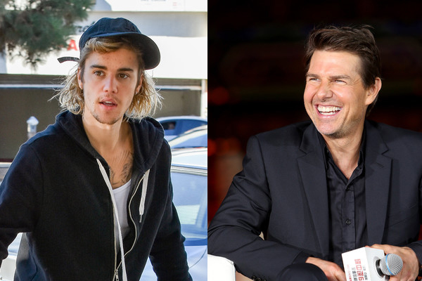 Justin Bieber challenges Tom Cruise to fight in the octagon