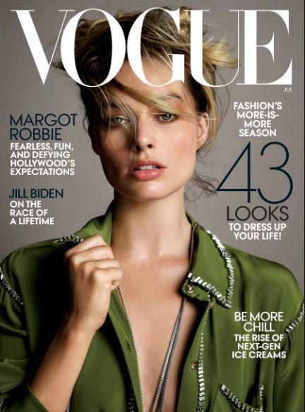 Margot Robbie hates being called a candy (Vogue)
