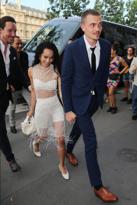 Zoe Kravitz marries Karl Glusman in France