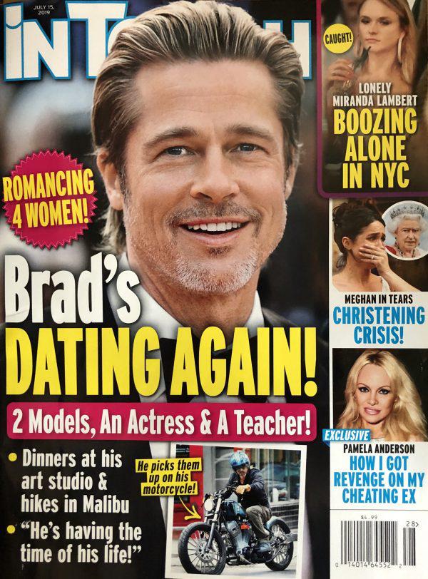 Brad Pitt dating again with four women!