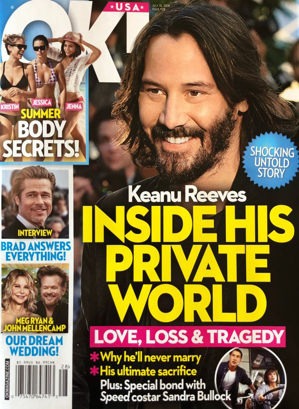 Inside the private world of Keanu Reeves! Avoid relationships? OK!