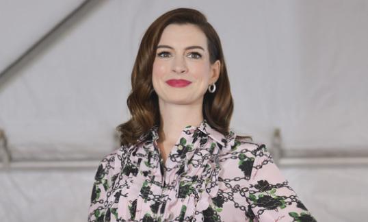 Anne Hathaway espera su segundo baby!