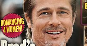 Brad Pitt saliendo de nuevo con cuatro mujeres!