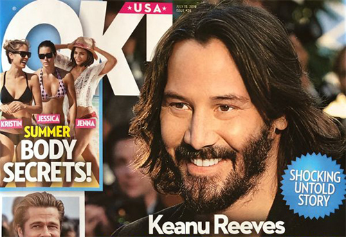 Within the private world of Keanu Reeves! Avoid relationships? OK!