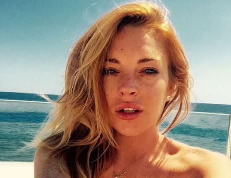 Lindsay Lohan turns 33 and remembered how she came into the world