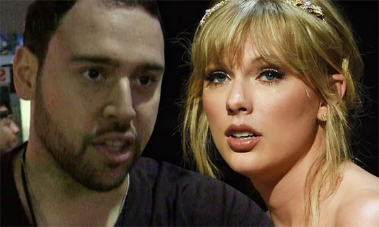 Taylor Swift attacks manager Scooter Braun for buying his old music
