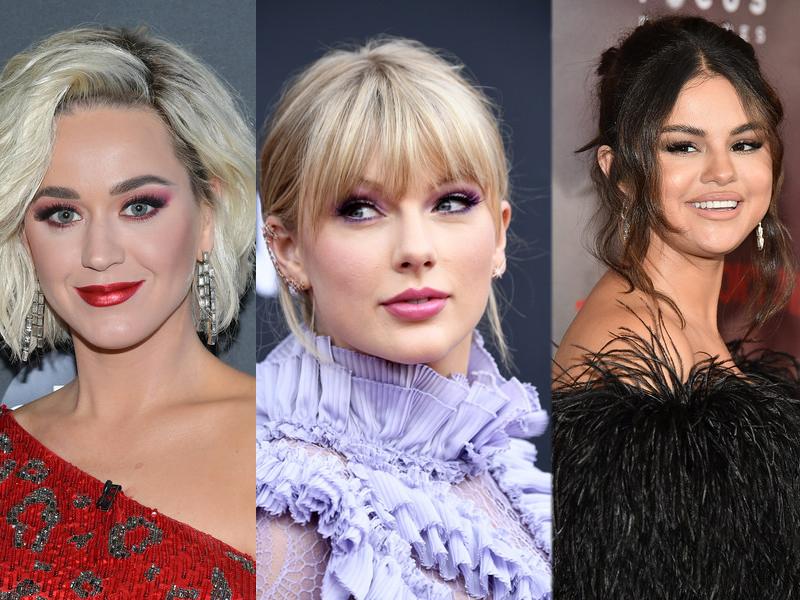 Taylor Swift, Katy Perry y Selena Gomez juntas en una canción