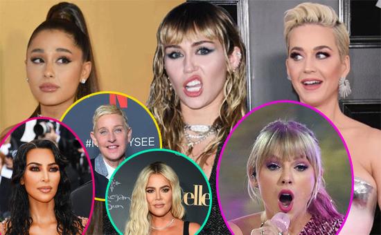 Celebs con más seguidores fake en Instagram? Ariana, Katy, Taylor, BTS