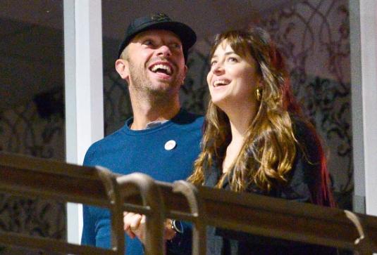 Chris Martin y Dakota Johnson volvieron!