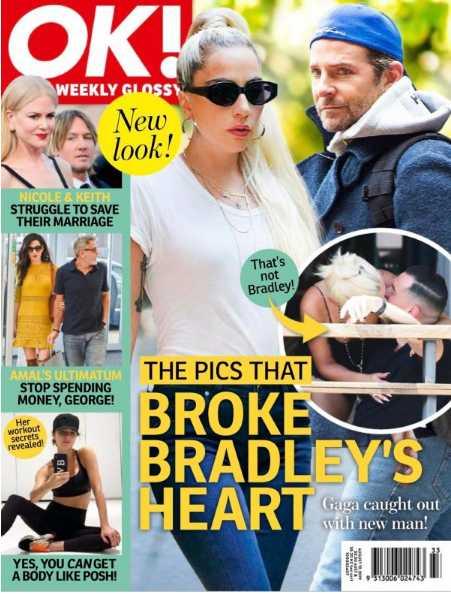 Bradley Cooper desconsolado por Lady Gaga