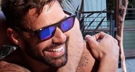 Ricky Martin presentó a su hijita Lucia en las redes