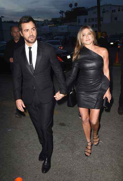 Jennifer Aniston y Justin Theroux tenian un matrimonio violento?