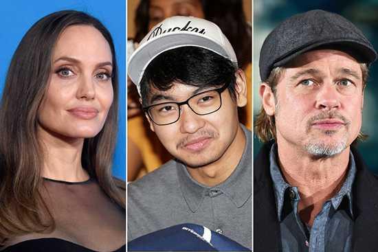 Angelina Jolie usando a Maddox en contra de Brad Pitt?