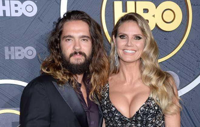 Heidi Klum y lo que piensan sus hijos de su esposo Tom Kaulitz