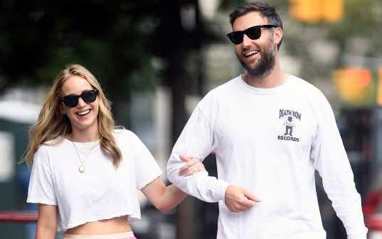 Jennifer Lawrence se casó con Cooke Maroney?
