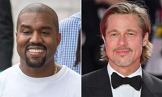 Brad Pitt en la premier de Ad Astra, habla de Kanye West