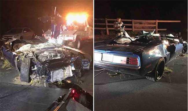 Kevin Hart recuperándose tras aparatoso accidente de auto